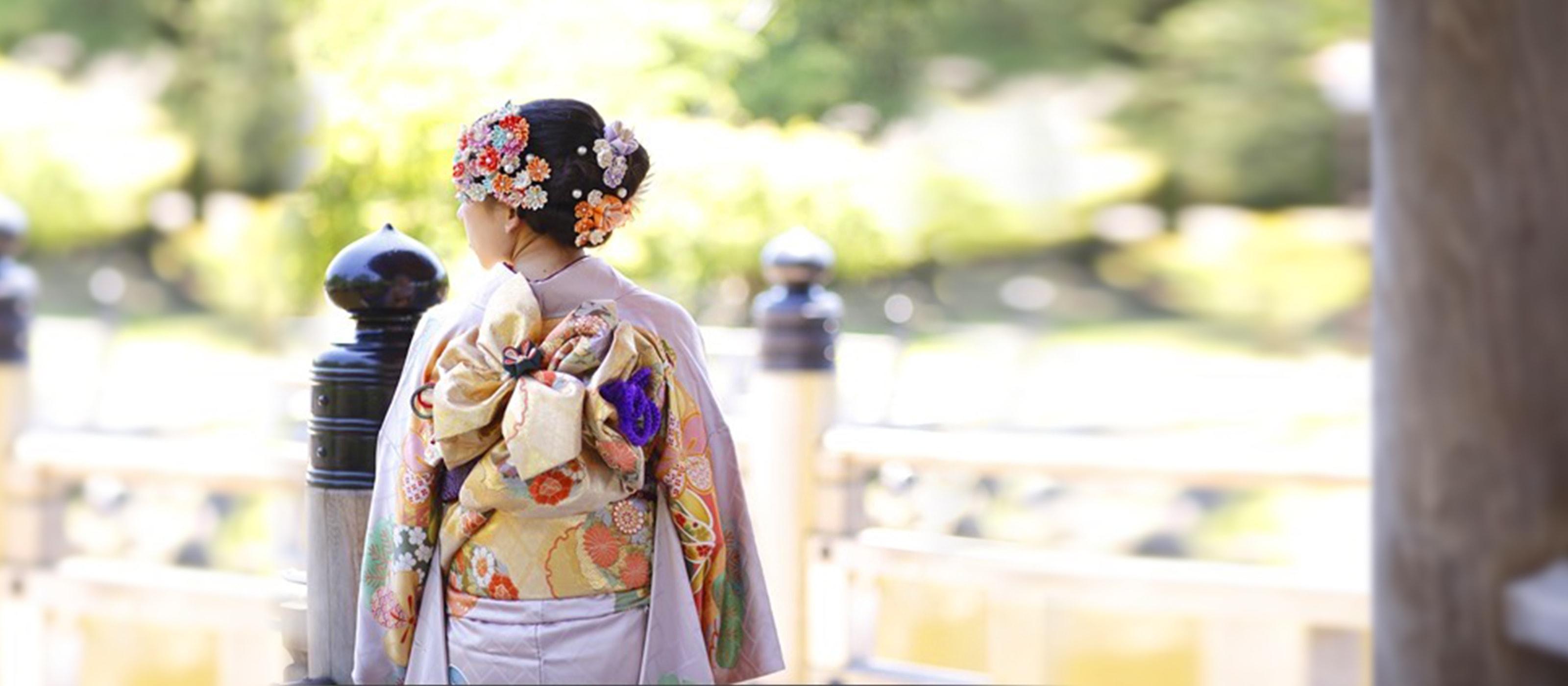 散策用着物(浴衣)レンタル Kimono (Yukata) rental